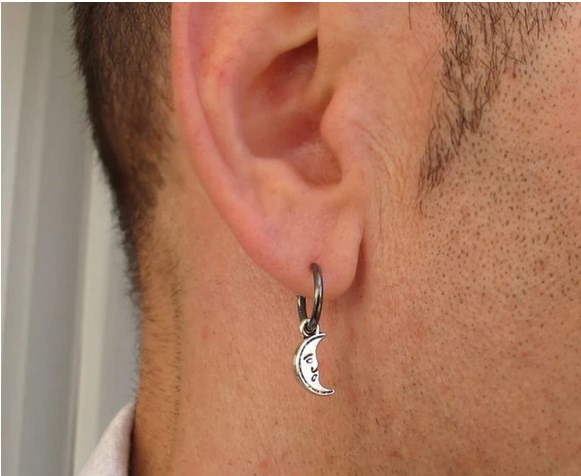 men earring